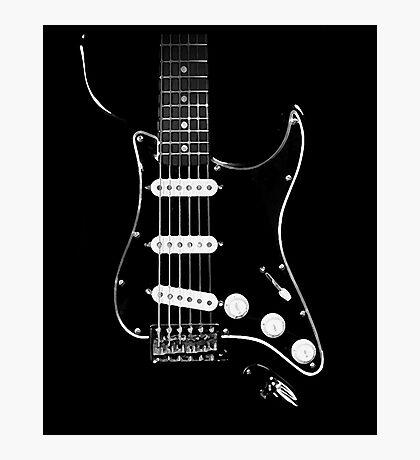 black glowstrings  Photographic Print