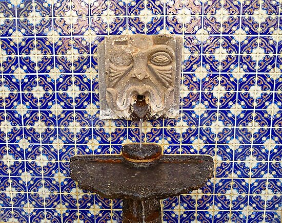 Tiled Fountain  by Robert Meyers-Lussier