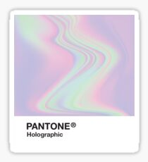 H.I.P.A.B - Holographic Iridescent Pantone Aesthetic Background Sticker