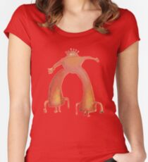 The Flaming Lips - Pink Robot Fitted Scoop T-Shirt