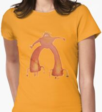 The Flaming Lips - Pink Robot Women's Fitted T-Shirt
