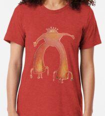 Die flammenden Lippen - Pink Robot Vintage T-Shirt
