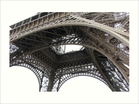 Eiffel Tower A by PhotosbyRhea