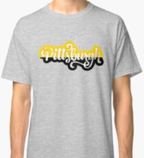 Pittsburgh Script  Classic T-Shirt