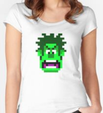 Smash-It Hulk Women's Fitted Scoop T-Shirt