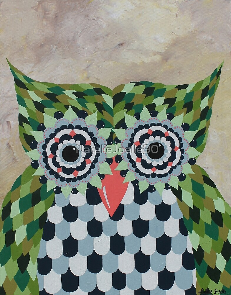 Owl Fly Away by NatalieJoelle90