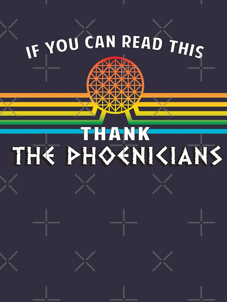 Thank the Phoenicians - Disney's Spaceship Earth - EPCOT by KellyDesignCo