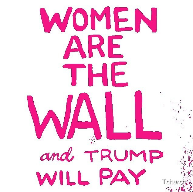 Women are the Wall - Pink by Tchurch