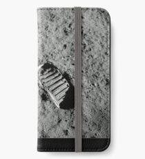 Vinilo o funda para iPhone Huella de Neil Armstrong