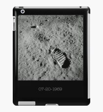 Neil Armstrong Footprint iPad Case/Skin