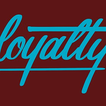 Loyalty- BLUE by patbusinger