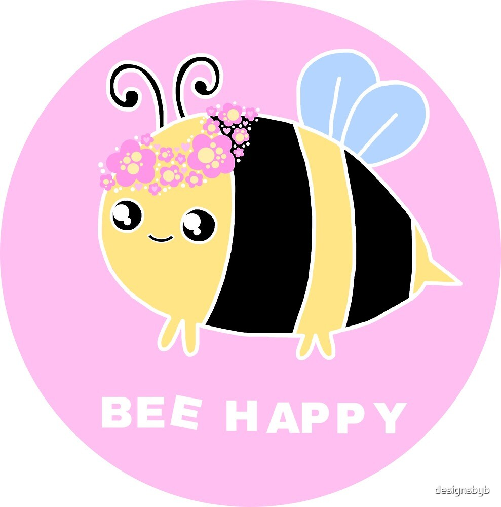 Bee Happy by designsbyb