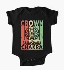 Yoga Crown Chakra Sahasrara Vintage Retro One Piece - Short Sleeve