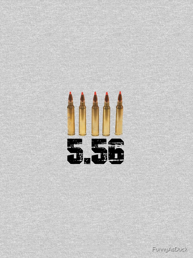 556 5.56 ammo can sticker label AR 15 by FunnyAsDuck