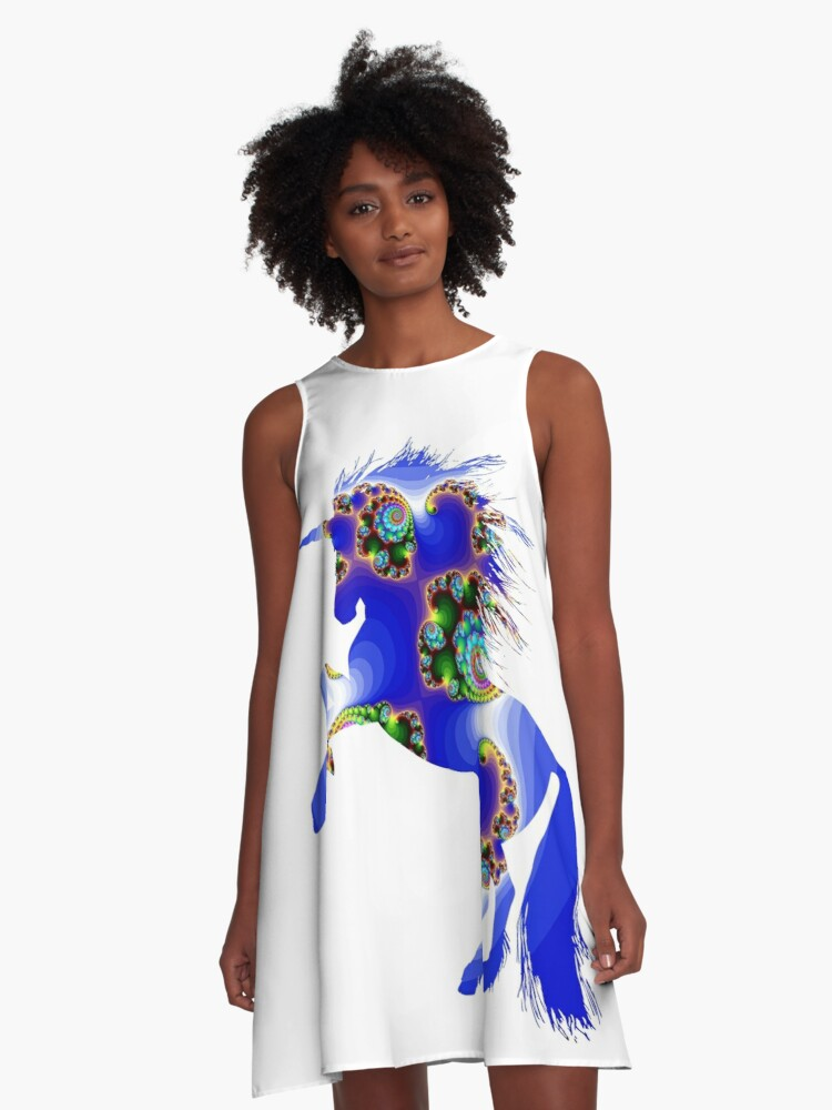 Your unicorn 1. A-Line Dress Front