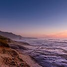 Sunset over Truman Track - Punakaiki by Alex Preiss