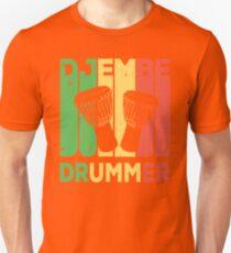 Djembe Drummer Vintage Retro  T-Shirt
