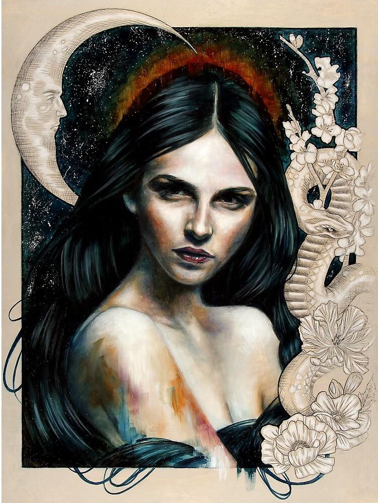 Eyes Like A Flame by Wendy Ortiz