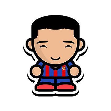 Happy Luis Suarez (Barcelona) by footballproud
