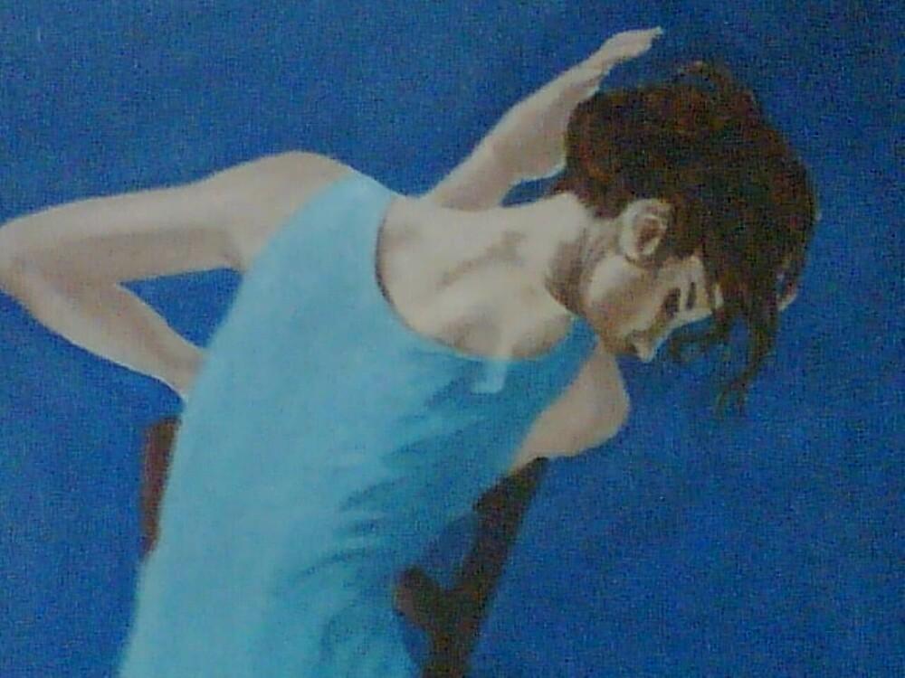blue by AYSE KAVAKLIOGLU