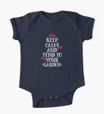 Keep Calm And Tend To Your Garden One Piece - Short Sleeve