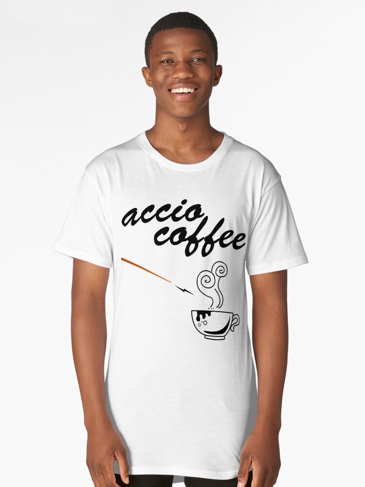 ACCIO COFFEE Long T-Shirt Front
