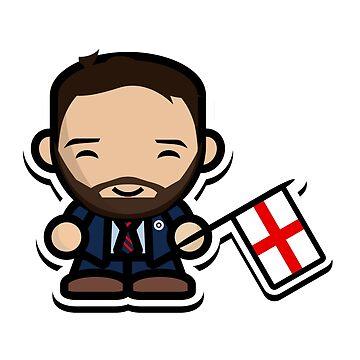 Happy Gareth Southgate (England) by footballproud