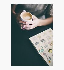 Latte Photographic Print