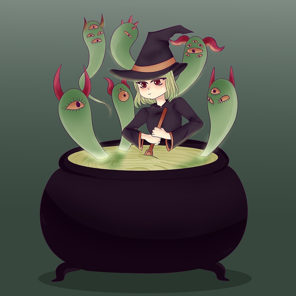 Witches Crew by Pffycat