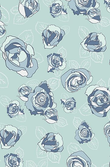 Roses are Blue by PaulaOhreen