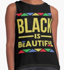 Black is Beautiful Contrast Tank