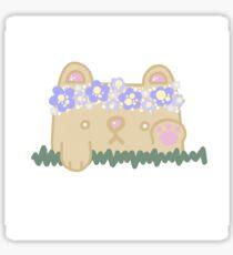 Flower Crown Bear Sticker