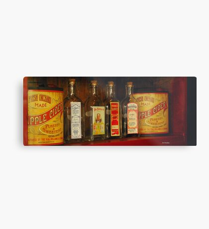 Yesteryear's Products Metal Print