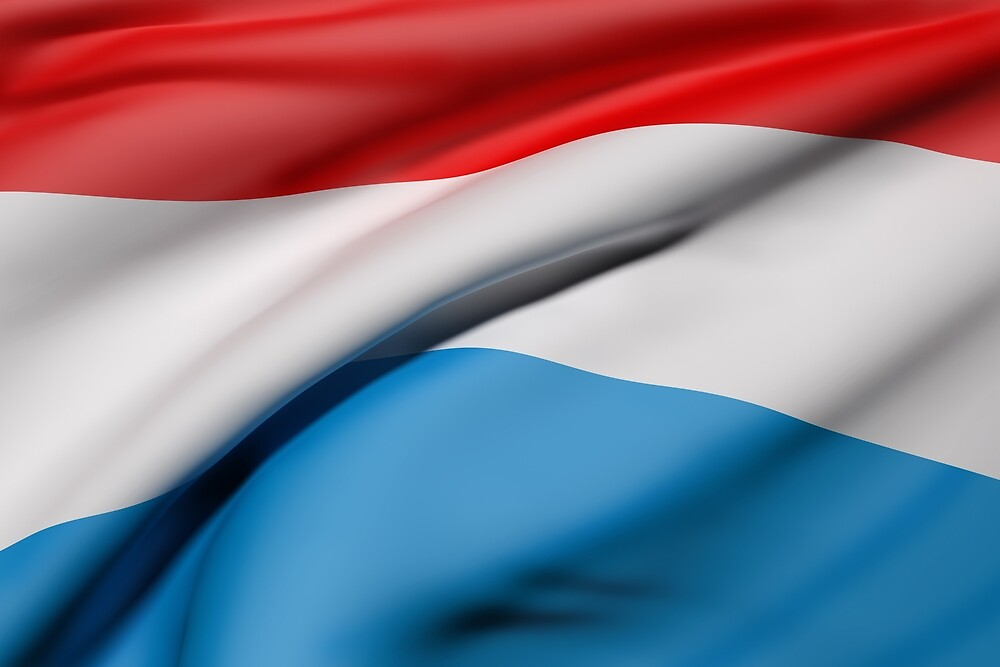 Luxembourg flag by erllre74