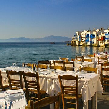 Preparing for Dinner, Mykonos by lenzart