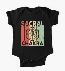 Yoga Sacral Chakra Vintage Retro One Piece - Short Sleeve