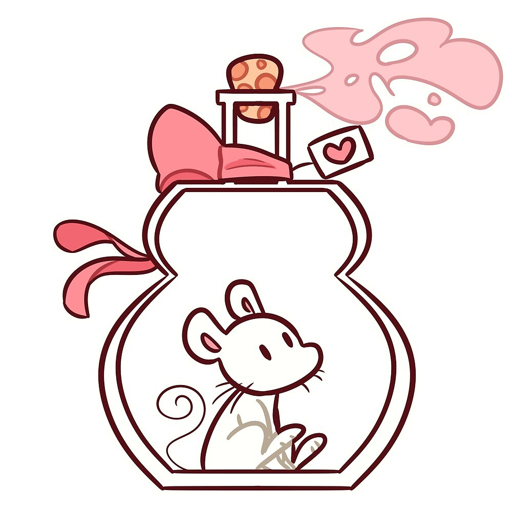 Rat in a Potion Bottle by ArtisticEternal