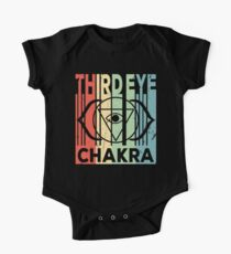 Yoga Third Eye Chakra Vintage Retro One Piece - Short Sleeve