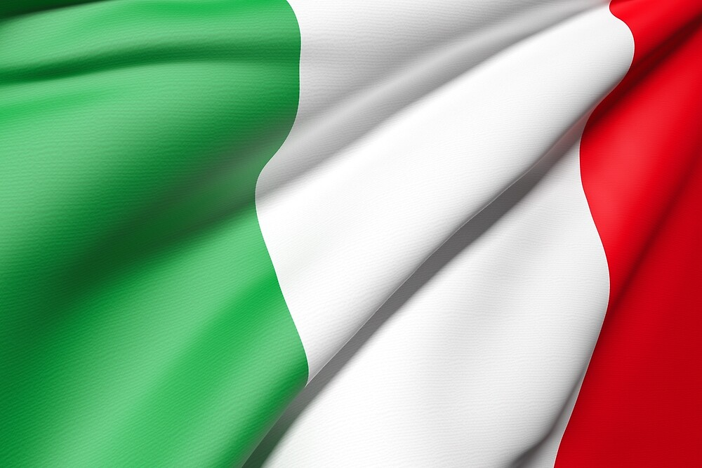Italy flag by erllre74
