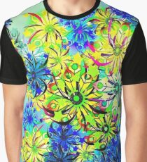 Abstract/flowers Graphic T-Shirt