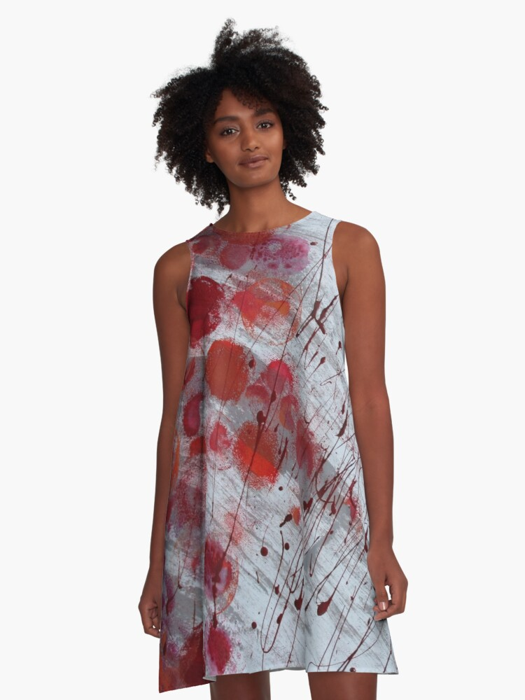 My paintings 10. A-Line Dress Front