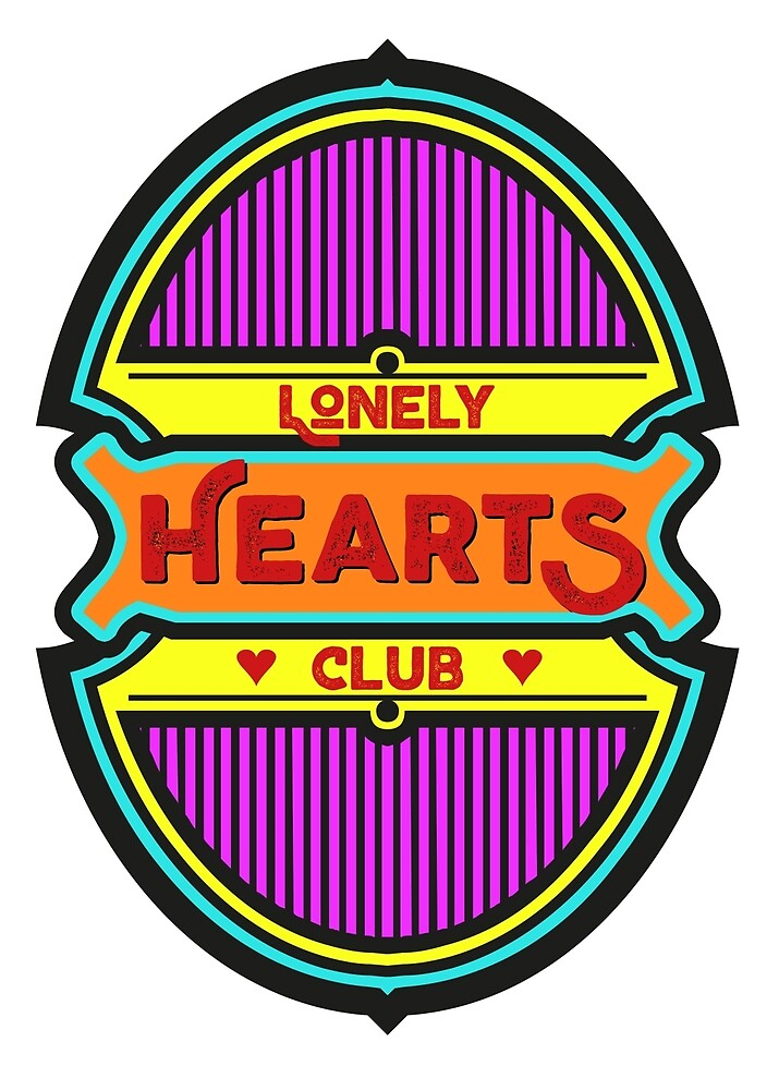 Lonely Hearts Club by Hell-Prints