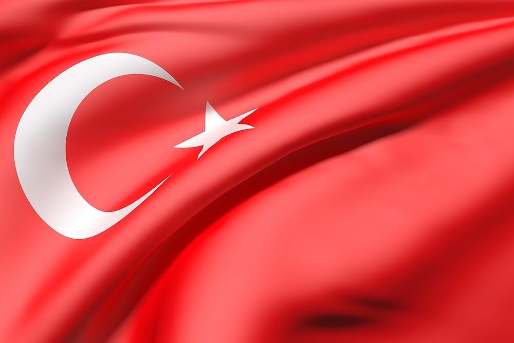 Turkey flag by erllre74