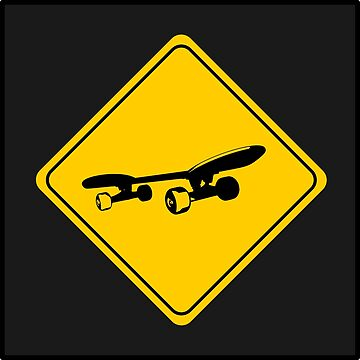 Skateboard Sign by AaronKinzer
