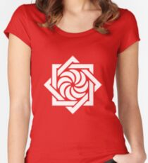 Armenian Symbol of Eternity Women's Fitted Scoop T-Shirt