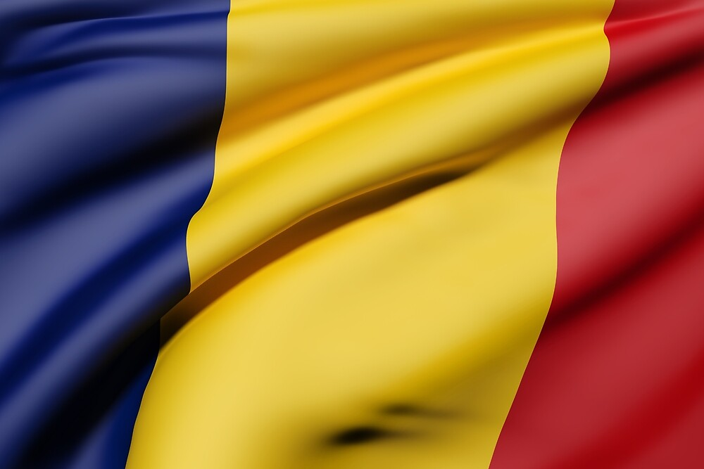 Romania flag by erllre74