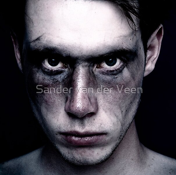 I will hunt you by Sander van der Veen