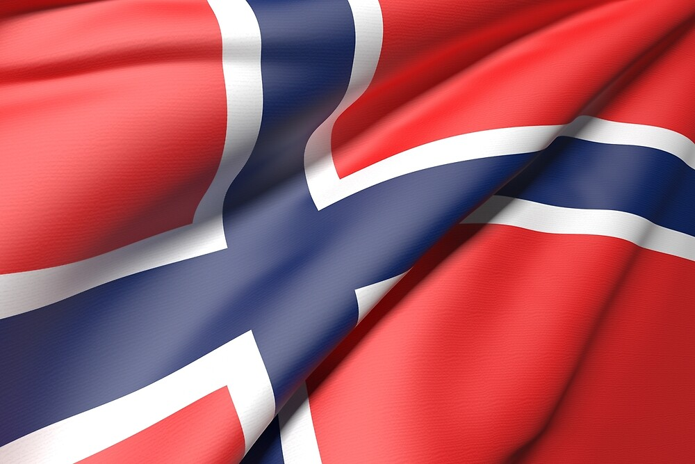 Norway flag by erllre74