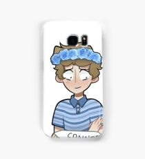 Evan Flower Crown Samsung Galaxy Case/Skin
