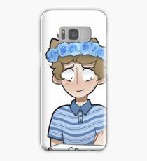 Evan Flower Crown Samsung Galaxy Case/Skin